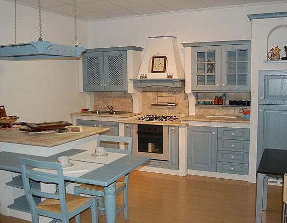 Кухни в стиле французский прованс.