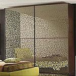 Пескоструйная обработка стекол для шкафов купе